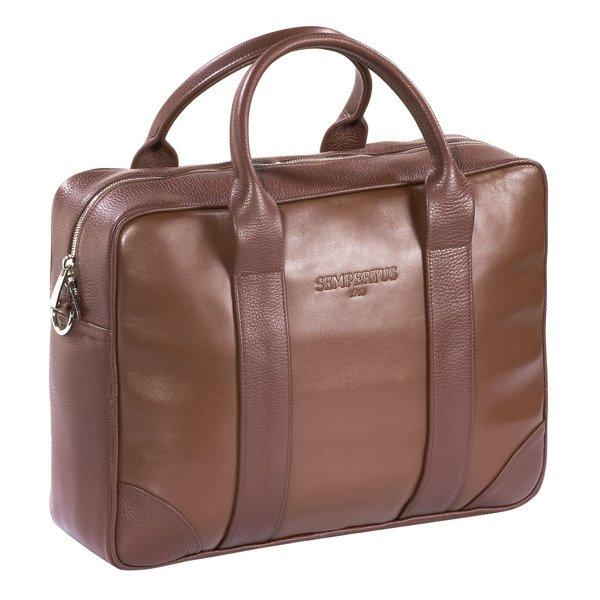 98fdb713908f9 Skórzana torba biznesowa na laptopa i dokumenty Kliknij